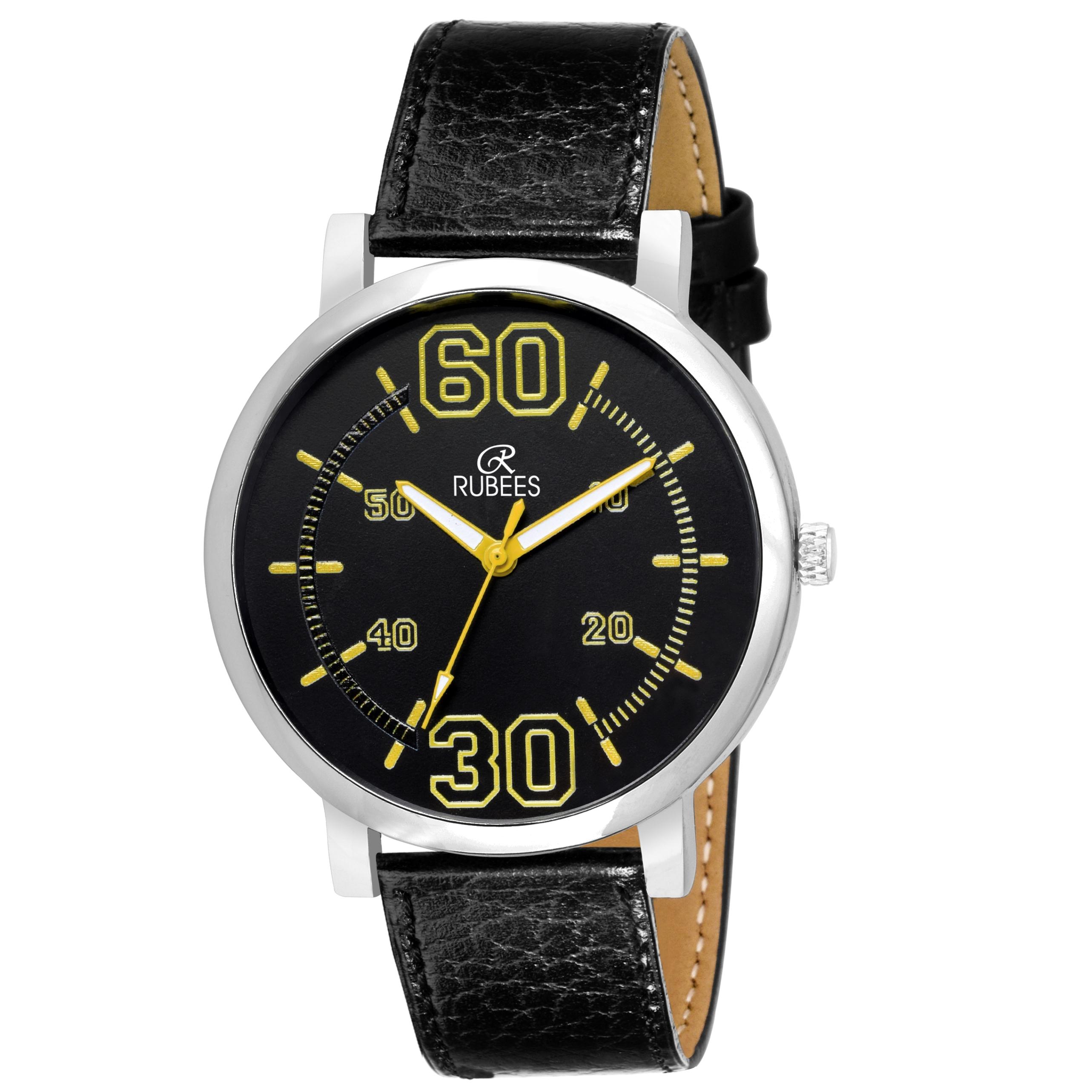 Rubees Analog Watch